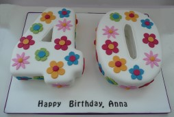 40th Birthday Cakes Girls Cake