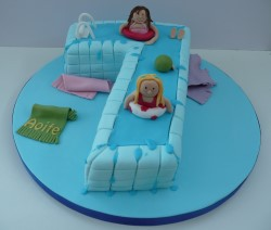 Girls 7th Birthday Cake